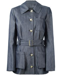 Lanvin | Chambray Belted Jacket 38