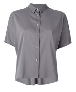 Eleventy | Short-Sleeved Button Fastening Shirt 42 Silk/Spandex/Elastane