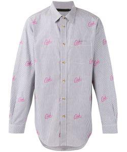 Alexander Wang | Рубашка В Полоску С Принтом