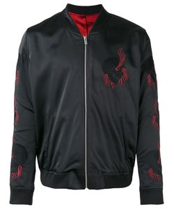 The Kooples   Bomber Jacket With Skull Embroidery 50