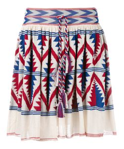 Laneus | Knitted Aztec Design Skirt Size 40