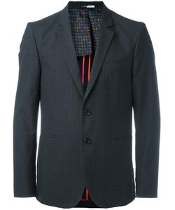 Paul Smith | Checked Blazer 52 Cotton/Wool/Viscose