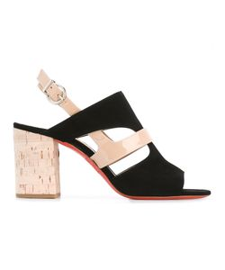 Barbara Bui | Cut-Out Detail Sling-Back Sandals 37.5 Calf