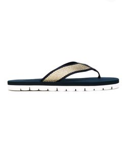 Tommy Hilfiger | Flip Flops Leather/Polyester/Synthetic Resin/Foam