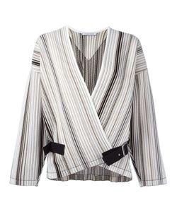 J.W. Anderson | J.W.Anderson Striped Belted Jacket Size
