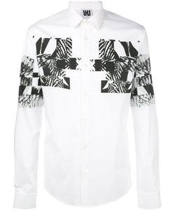 Les Hommes Urban | Front Print Shirt