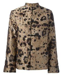 FOR RESTLESS SLEEPERS | Animal Print Jacket Large Polyester/Silk