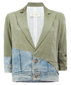 GREG LAUREN | Vintage Denim Cropped Jacket 1 Cotton