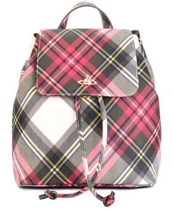 Vivienne Westwood | Checked Backpack Cotton/Pvc
