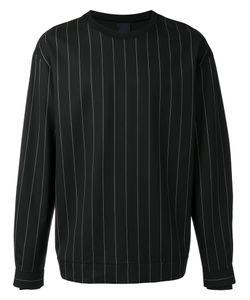 JUUN.J | Pin Stripe Sweatshirt Size 48 Wool/Cotton