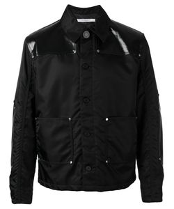 Givenchy | Faux Leather-Panelled Jacket 50