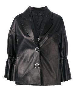 Drome   Peplum Sleeve Buttoned Jacket Size Small