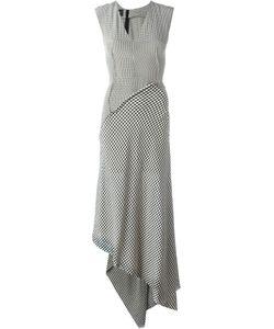 Yang Li | Лоскутное Платье В Клетку