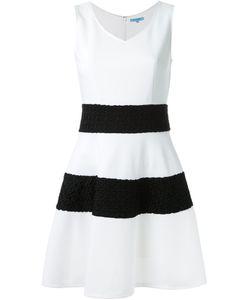 GUILD PRIME   Wide Stripe Textured A-Line Skirt