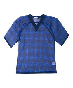 Givenchy | Sheer Check Print Top