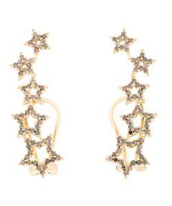 ROSA DE LA CRUZ | Diamond Star Earrings