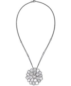 SAQQARA | Diamond Flower Necklace
