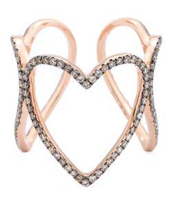 ROSA DE LA CRUZ | Triple Heart Ring