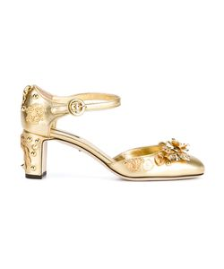 Dolce & Gabbana | Embellished Mary Jane Pumps