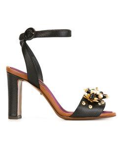 Dolce & Gabbana | Декорированные Босоножки С Ремешком На Щиколотке