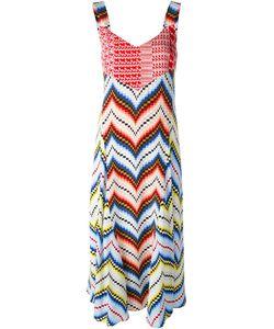 Kenzo | Платье С Зигзагообразным Узором