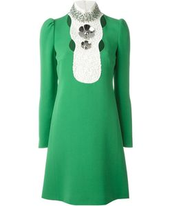 Giambattista Valli | Декорированное Платье С Кристаллами