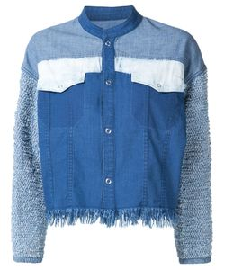 MAME | Cropped Patchwork Jacket