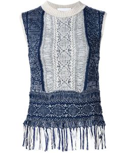 MAME | Frayed Knit Tank Top