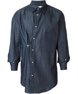 MOW | Sideways Fasten Button Down Shirt