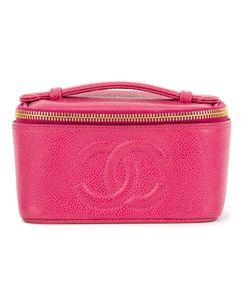 Chanel Vintage | Чемоданчик Для Косметики С Логотипом