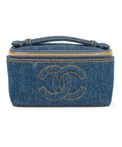 Chanel Vintage | Джинсовый Чемоданчик Для Косметики