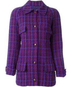 Chanel Vintage | Удлиненный Твидовый Пиджак