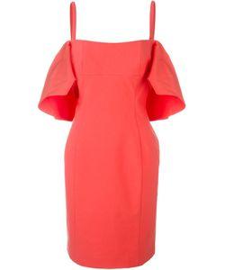 Roberto Capucci | Off-Shoulder Ruffle Dress