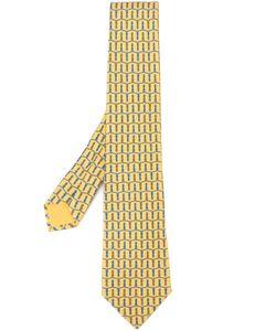 Hermès Vintage | Галстук С Плетеным Узором