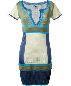 MISSONI VINTAGE | Colour Block Knit Dress