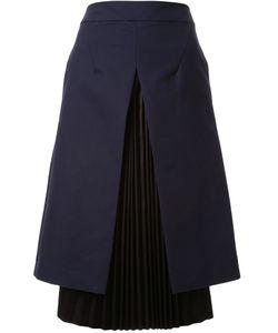 TARO HORIUCHI | Open Box Pleated Skirt