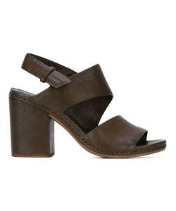 Roberto Del Carlo | Chunky Heel Slingback Sandals