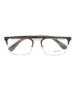 Prada Eyewear   Square Frame Glasses Acetate/Metal