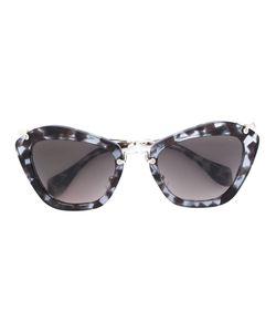 Miu Miu Eyewear   Солнцезащитные Очки С Массивной Оправой