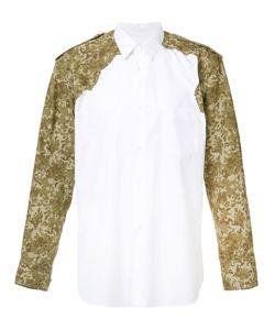 Comme Des Garcons | Comme Des Garçons Shirt Camouflage Panel Shirt