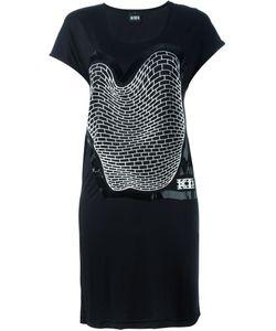 Ktz | Платье С Принтом Кирпичной Кладки