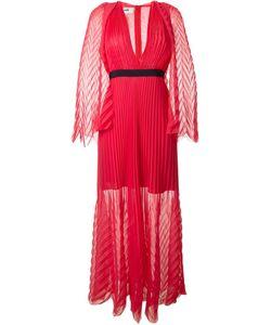 MSGM | Длинное Плиссированное Платье