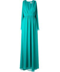 MSGM | Драпированное Вечернее Платье