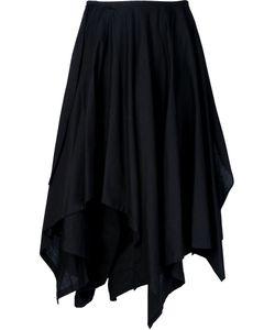 Yohji Yamamoto   Многослойная Юбка Асимметричного Кроя