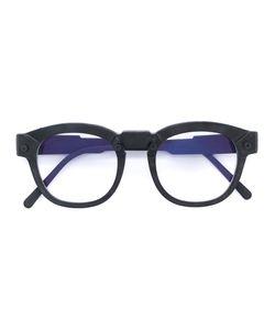 KUBORAUM   Burnt Round Glasses