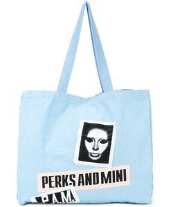 PAM PERKS AND MINI | Banner Tote Bag