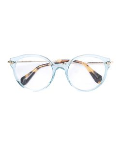 Miu Miu Eyewear | Round Shaped Glasses Acetate/Metal