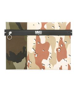 MM6 by Maison Margiela | Mm6 Maison Margiela Camouflage Print Clutch Cotton/Polyester/Polyurethane