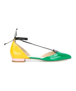 GIANNICO | Lolita Ballerinas 37 Patent Leather/Leather