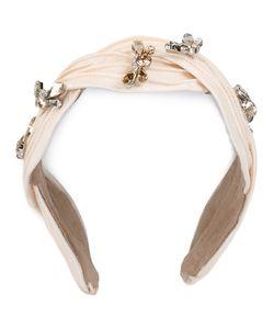 Maison Michel | Rhinestone Embellished Headband